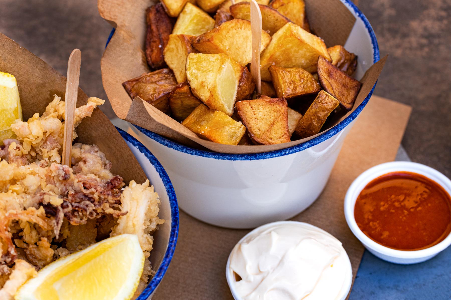 cinc food parlour fried calamari and chips